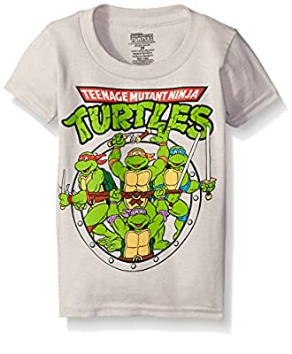 Nickelodeon Teenage Mutant Ninja Turtles Boys' Group T-Shirt Shirt