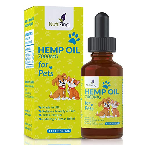 NutriZing Hemp Seed Oil for Dogs and Cats