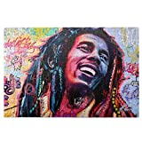 Street Artist Art Bo-B Mar-Ley Jigsaw Puzzle For Adults 1000 Pieces Adult Jigsaw Puzzles Educational Games Intense Colors And High Definition Printing – Ideal For Relaxation Meditation Hobby