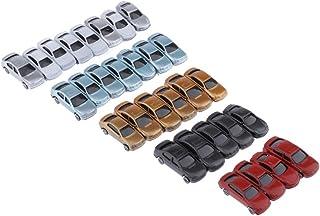 sharprepublic 30 st. 1: 100 målade leksaksbilar modellbil set fordon byggnad tåglayout parkeringsplatser vägfördelning til...