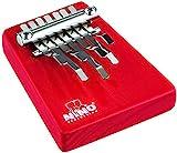 Nino Percussion NINO964R Medium Kalimba with 7 Keys Red