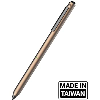 Adonit Dash 3 (Bronze) - Capacitive Fine Point Stylus Pencil for for Drawing and Handwriting Compatible with Apple iPad, iPad Pro, Air, Mini, iPhone and Android Touchscreen Cellphones, Tablets