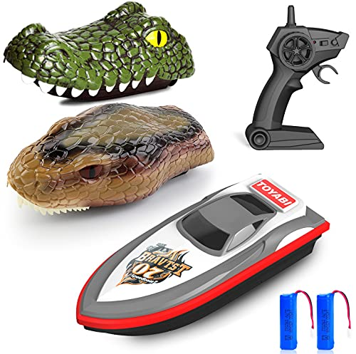 Gizmovine Remote Control Boats for Pools and Lakes,...