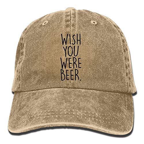 Agoyls Cappello Unisex del Cotone Berretto da Baseball Have You Shop Wish You Beer Men Women Lightweight Breathable Soft Cowboy Hats Vintage Denim Trucker Baseball Caps