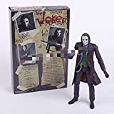 WHBGKJ Figura de acción Bruce Wayne Clark Kent Joker PVC Figura de acción de PVC Juguete Coleccionab...