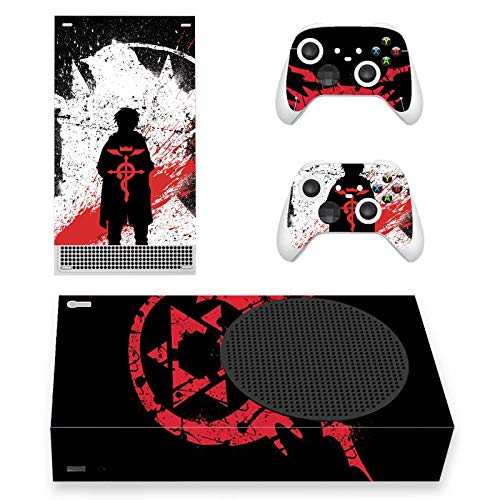 Protective Vinyl Skin Decal Cover for X-Box-Series-S Console Wrap Sticker Skins with Two Free Wireless Controller Decals Alchemy Anime