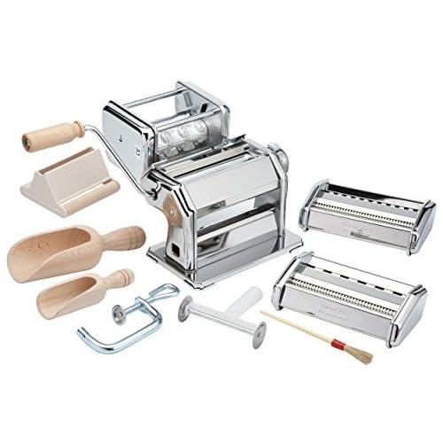 Kitchen Craft 501 Macchina Fabbrica della Pasta, Acciaio, Argento