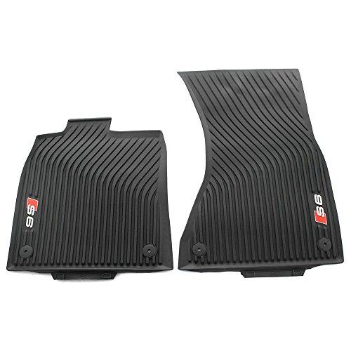 AUDI Genuine S6 All Weather Floor Mats - Front