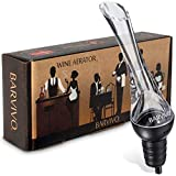 Wine Aerator Pourer by Barvivo - Enhance Your Red Wine 3 Fold Effortlessly with This Classic Aerating Decanter Spout - Best for Bottles of Red Wine - Pour from Your Wine Bottle without any Spills