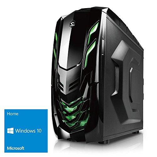 Kiebel Gamer-PC [184299] Intel Core i7 6700 4x3.4GHz   8GB DDR4 2133   250GB SSD + 1TB SATA3   NVIDIA Geforce GTX 1060 6GB DDR5   ASUS   DVD   Sound   LAN   USB3   500W   Win10