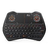 Rii Mini Wireless Backlit Touchpad Keyboard ,Gamepad-Feeling Work for PC,Raspberry Pi 2 3
