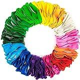 yuechen 100 piezas Globos de látex Globos de Colores Surtidos 30cm / 12' , Globos para Fiestas, Bodas, Reuniones, Cumpleaños, Bautizos, Photocall, Decoración