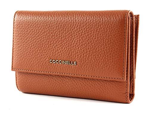 Coccinelle Metallic Soft portafoglio pelle 14 cm