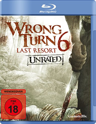 Wrong Turn 6 - Last Resort - Unrated [Blu-ray]