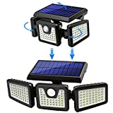 Photo #2: Solar Motion Sensor Lights by AmeriTop Featuring 800LM Wireless LED Lights 2 Pack