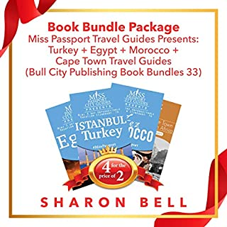 Book Bundle Package: Miss Passport Travel Guides Presents: Turkey + Egypt + Morocco + Cape Town Travel Guides  cover art