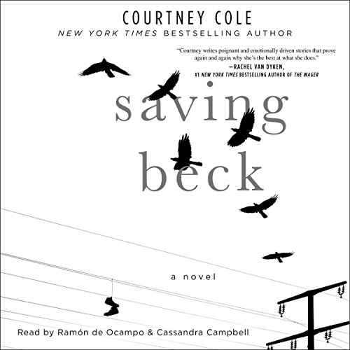 Saving Beck audiobook cover art