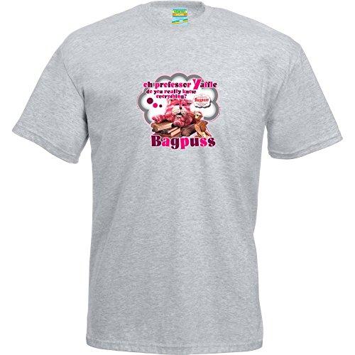 Bagpuss Unisex T-Shirt - Grey - S to XL