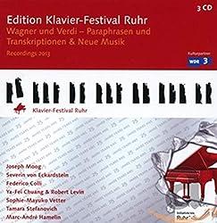 Édition Ruhr Piano Festival 2013. Paraphrases et Transcriptions d'Œuvres de Wagner et Verdi