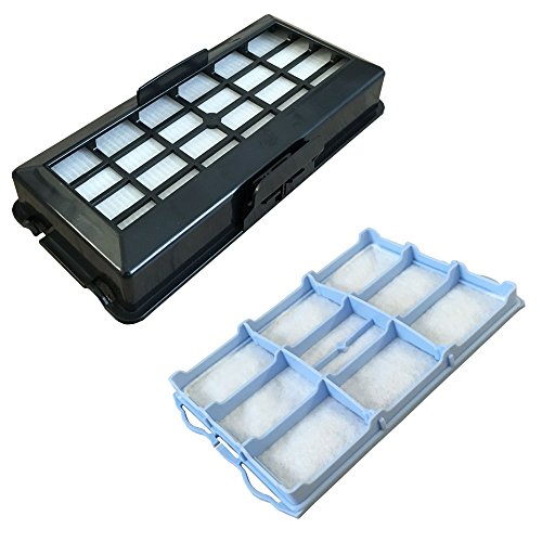 PakTrade SPARSET - HEPA Filter + Motorfilter geeignet Für Bosch BSG 71666/07-/17 Hygienixx