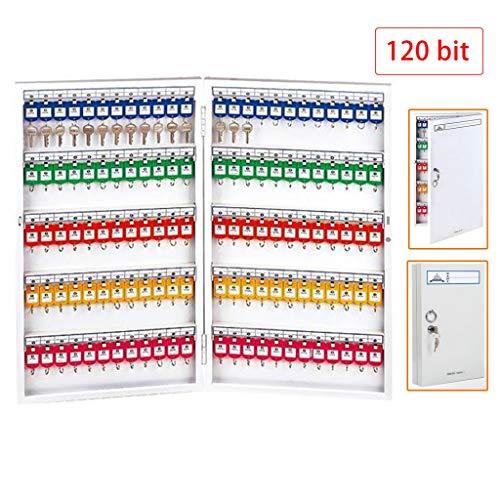 Sleutelkasten en planken 120 bits sleutelbox wandsleutelkast met grote capaciteit opslagklassificatiesleutelbeheer autosleutel-management-kast