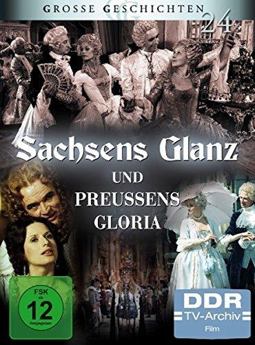 Große Geschichten 24 - Sachsens Glanz und Preußens Gloria [4 DVDs]