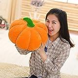 HELEVIA Halloween-Kürbis-Plüsch-Handkissen, Kürbis-geformtes Kissen Halloween-Dekorationen pp. Baumwollweiches angefülltes Wurfs-Kissen-Kürbis-Kissen