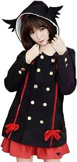 GK-O Anime Owari no Serafu Seraph of The End Krul Tepes Cosplay Costume Womens Hooded Warm Coats Parkas Jackets