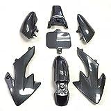 HTTMT XFY-CN Group Motorctcly Carbon Fiber Plastic Fender Kit Body Work Fairing Kit Compatible with Honda CRF XR XR50 CRF50 Clone 125CC Pit Dirt Bike