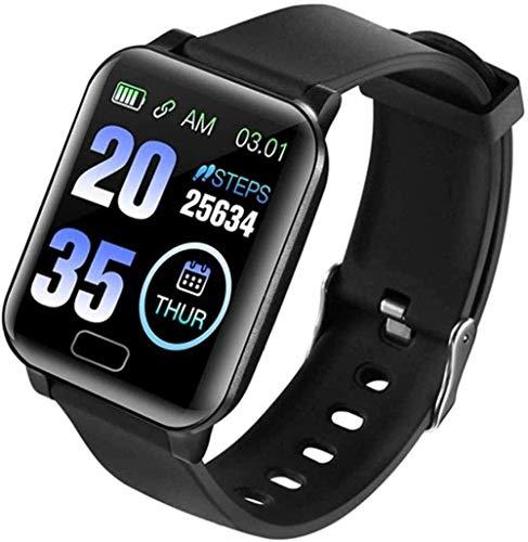 TYX-SS Reloj Inteligente a Prueba de Agua IP67 para Hombre, Reloj Inteligente con Bluetooth, presión Arterial, información de monitoreo de frecuencia cardíaca, función de recordatorio de Llamada