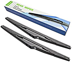 Rear Wiper Blade,ASLAM Type-E 12Y for 2011-2016 Kia Sportage Rear Windscreen,Hyundai ix35 2010-2015 and i30 2007-2011 Exact Fit(Pack of 2)