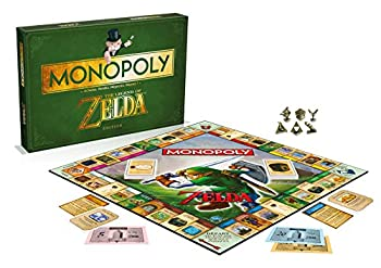 Winning Moves Monopoly The Legend of Zelda Board Game Green
