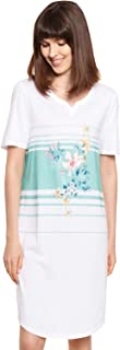 Rösch New Romance 1213081-16501 Women's Summer Bloom Cotton Nightdress
