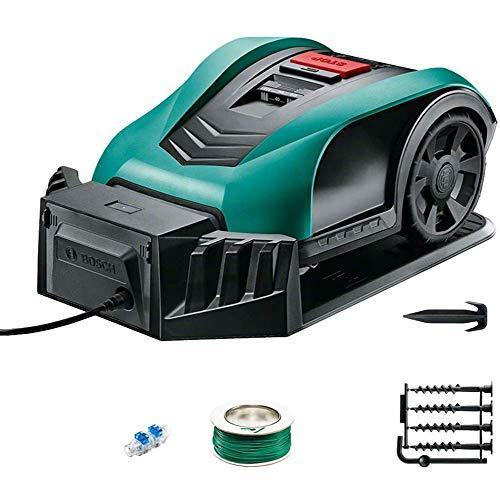 Robotic Lawn Mower, con Pilas Segadora-7,5 Pulgadas de siega Inteligente Robot cortacésped, adecuados for Las Yardas hasta 350m2, B DDLS (Color : B)