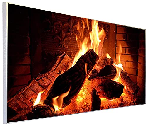 Ecowelle Infrarotheizung mit Bild | 600 Watt | 60x120 cm | Infrarot Heizung| | Made in Germany| (4)