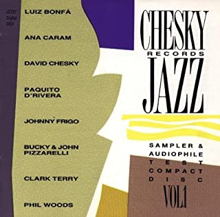 Chesky Records Jazz Sampler & Audiophile Test Compact Vol. 1