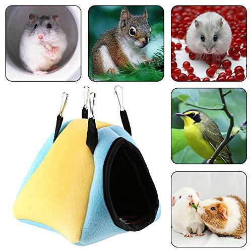 Huisdierbed, katoenen lintermateriaal winter klein slapen met haak voor hamster chinchilla egel