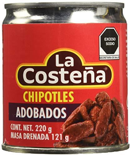Chiles Chipotles Adobados La Costeña 220G