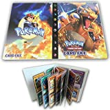 Card Album Compatible with Pokemon Cards, Card Holder, Binder Cards Album Book Best Protection Trading Cards /GX/EX /Put up to 240 Cards, Charizard