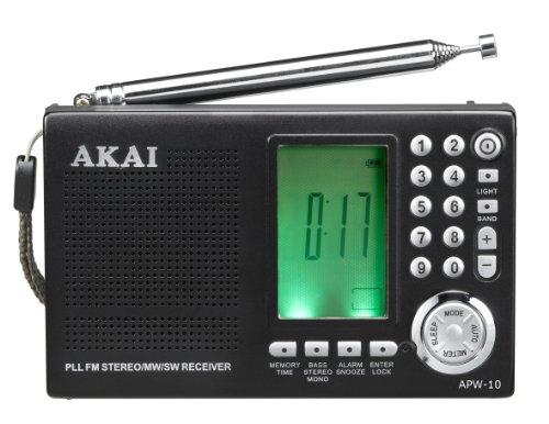 Akai APW10 Welt-Receiver (UKW/PLL-Tuner) schwarz