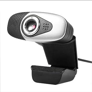 XIEXJ Cámara Web Video Full HD con Pinzas En La Webcam Micrófono Integrado para Ordenador Portátil/Cámara De La ComputadoraB