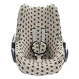 JANABEBE Funda para Maxi Cosi Cabriofix, silla de coche gr 0 (Dark sky)