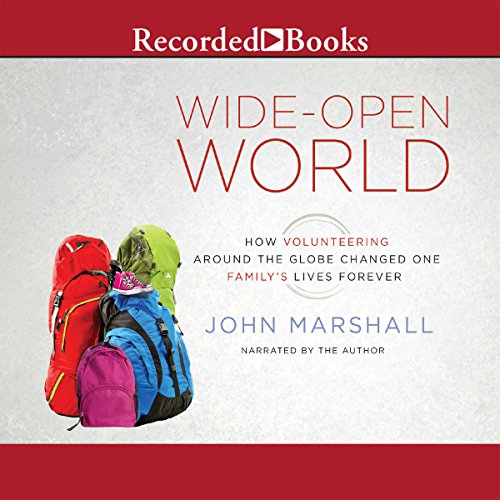 Wide-Open World audiobook cover art