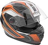 Rocc 321 Integralhelm S Schwarz/Orange/Weiß