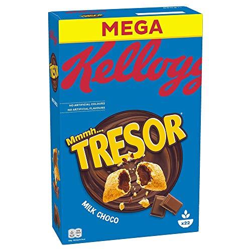 Kellogg's Tresor Milk Choco | Cerealien mit Schokofüllung | Einzelpackung (1 x 660g)