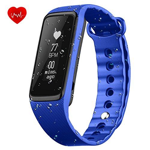 OMorc Fitness Tracker Schrittzähler, Activity Armband, Intelligent Waterproof Smart Band, Health Schrittzähler, IP68 Wasserdicht