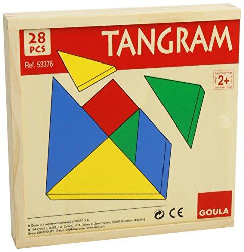 Goula - Tangram, juego educativo (Diset 53376)