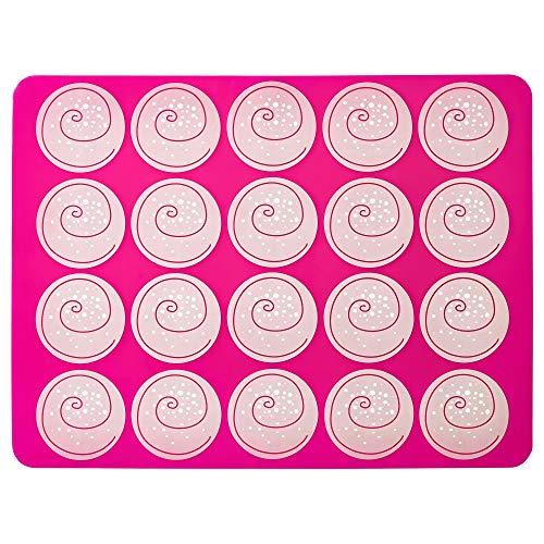 IKEA Backmatte Mönstrad 802.330.72 pink