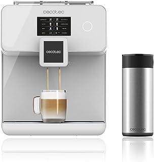 Cecotec Cafetera Automática Power Matic-ccino 8000 Touch, Depósito de leche. Pantalla Táctil Interactiva. Prepara Cappucci...