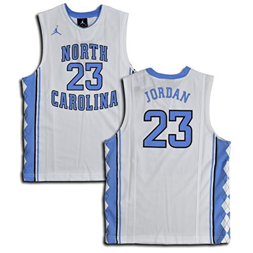 ee72e168984 NIKE Jordan Big Boys' (Youth) UNC North Carolina Tar Heels Replica Jersey  Michael